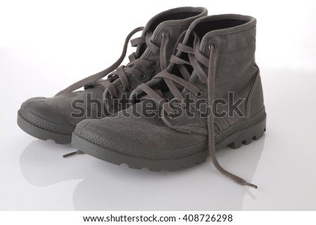 Photo of work shoes