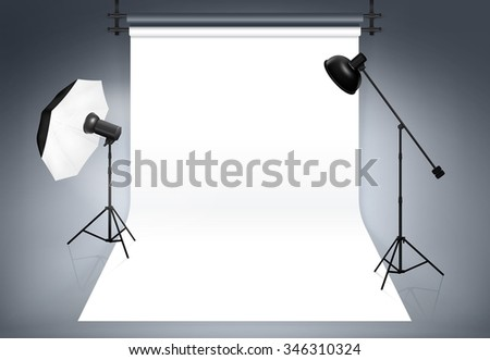 Photo studio background