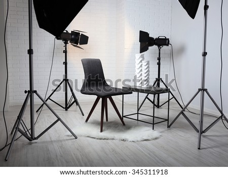 Modern Furniture Photography modern photography studio object shooting stock photo 567542779