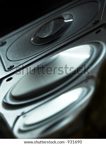 Photograph of a Floor Standing Speaker