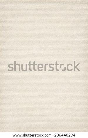 Photograph of artist's coarse grain, striped Off White pastel paper, vignette grunge texture sample - stock photo