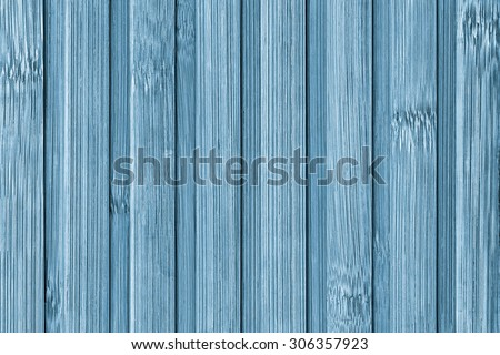Photograph of Bamboo Place Mat, Cyan Stained, Bleached and Mottled, Grunge Texture Detail.
