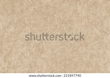 Photograph of Beige Striped Pastel Paper, coarse grain, bleached, blotted grunge texture sample. - stock photo