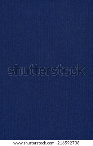 Photograph of dark, deep Navy Blue recycle striped paper, extra coarse grain, grunge texture sample. - stock photo