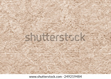 Photograph of extra coarse grain, Acrylic primed, artist Jute canvas, bleached, mottled texture sample. - stock photo