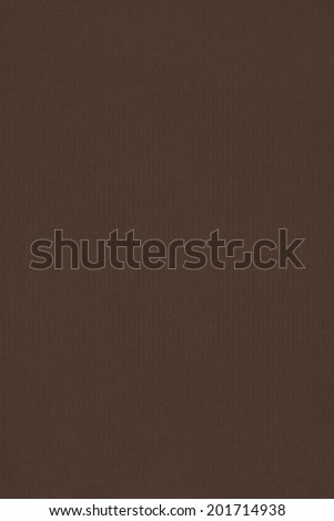 Photograph of old recycle, striped kraft Raw Umber Brown paper, coarse grain grunge texture - stock photo