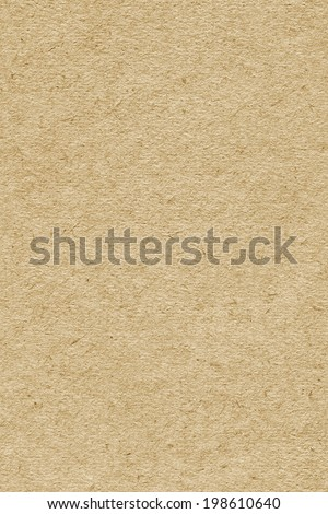 Photograph of pale Yellow recycle paper, extra coarse grain, grunge texture sample