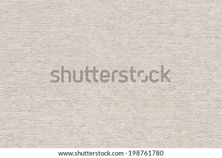 Photograph of primed artist's Linen duck coarse grain canvas, roughly treated texture sample
