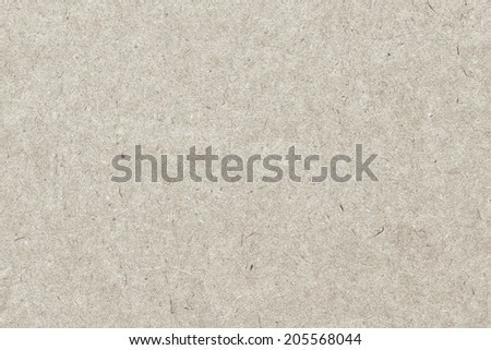 Photograph of recycle Off White kraft paper, extra coarse grain, grunge texture sample