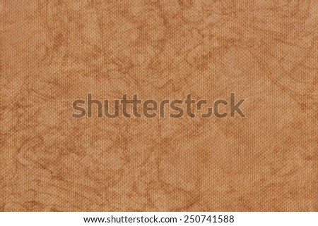 Photograph of Recycle Orange Pastel Paper, coarse grain, bleached, mottled, grunge texture sample. - stock photo