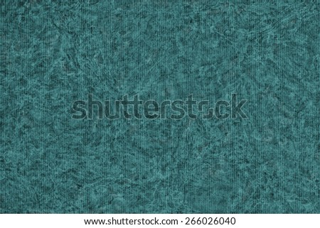 Photograph of Recycle Striped Dark Emerald Green Pastel Paper, bleached, mottled, coarse grain, grunge texture sample. - stock photo