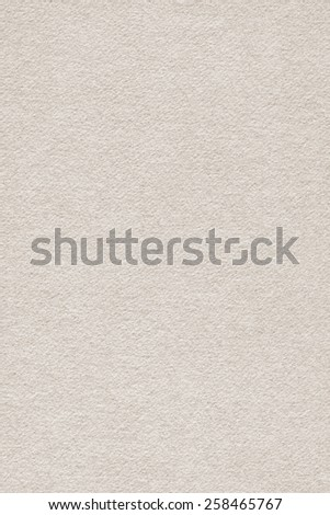 Photograph of Recycle Watercolor Paper, coarse grain, Grayish Beige, grunge texture detail sample.