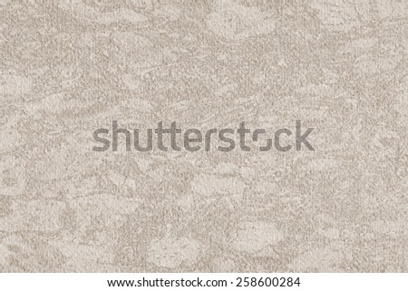 Photograph of Recycle Watercolor Paper, coarse grain, light Grayish Beige, bleached, interspersed with delicate irregular linear pattern, grunge texture. - stock photo