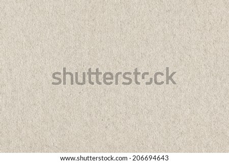 Photograph of recycle watercolor paper, coarse grain, Off White, grunge texture sample