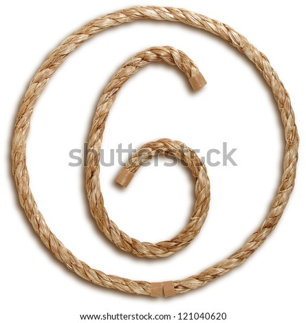 Photograph of Rope Number 6