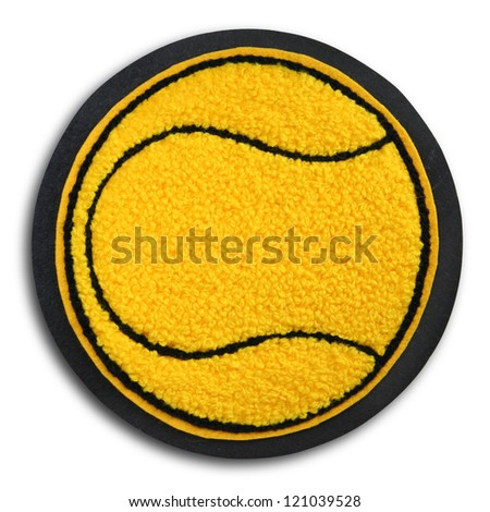 Photograph of School Sports Tennis Patch - stock photo
