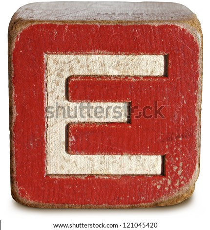 e block letter block letters stock images royalty free images vectors 21427 | stock photo photograph of wooden block letter e 121045420