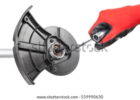 Fire Sprinkler Red Pipe On White Stock Photo 259733135