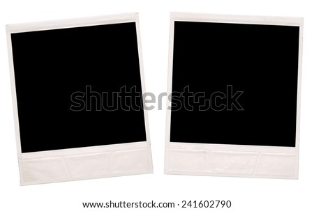 photos on a white background - stock photo
