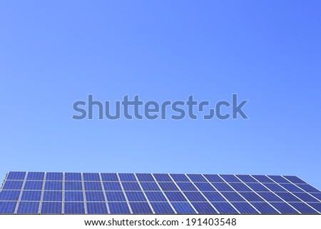 photovoltaic modules  - stock photo