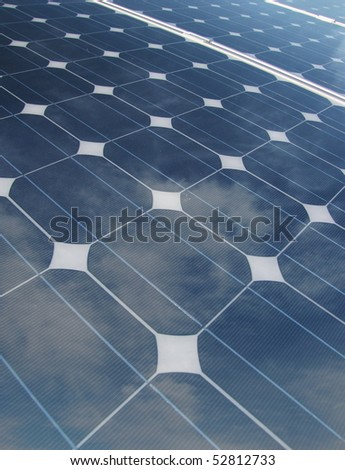 photovoltaic panel detail