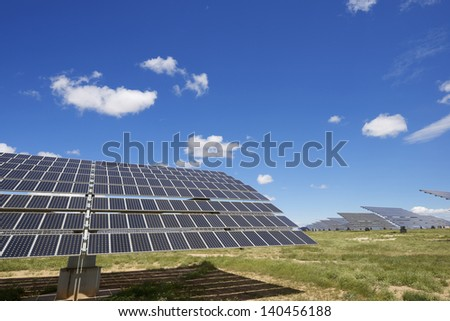 Photovoltaic panel for renewable electric energy production