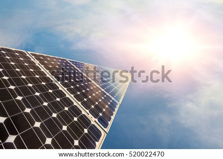 photovoltaic panels - alternative electricity source