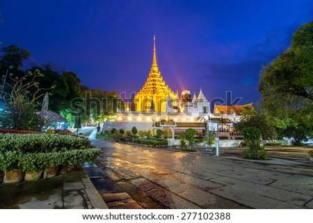 phraphutthabat temple , beautiful temple in saraburi , Thailand - stock photo