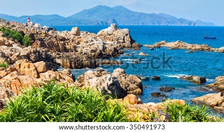 "Phu Yen, Vietnam, stone pillars ""Gen Y Y"""