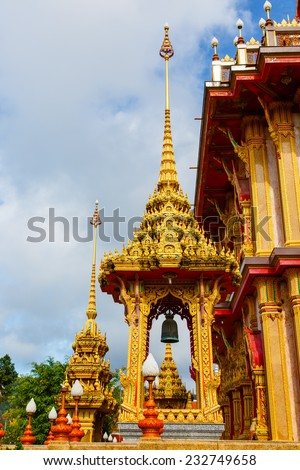 Phuket, Thailand - October 14, 2013: excursion to the temple Wat Chalong