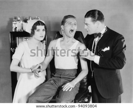PHYSICAL EXAMINATION - stock photo