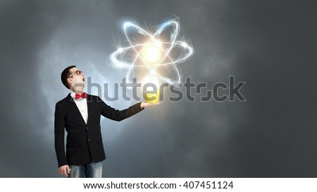 Physics science concept