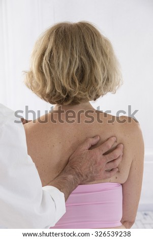 physiotherapy - stock photo