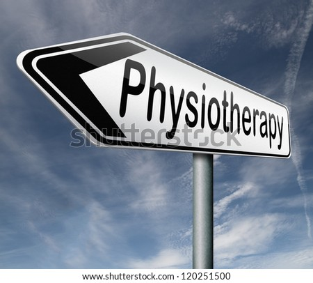 physiotherapy or physical therapy by therapist for rehabilitation after sports injury or accident - stock photo