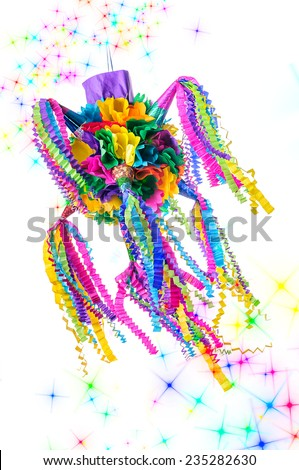 Piñata fiesta - stock photo
