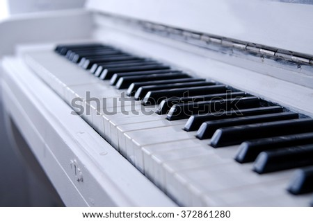 piano. black and white key. musical instrument.