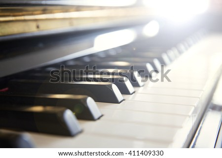 piano, music instrument, classic unplugged music instrument.
