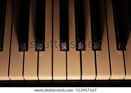 Piano. Musical instrument.
