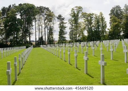 Picardie (France) - American Cemetery of the First World War