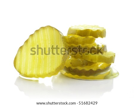 pickles - stock photo
