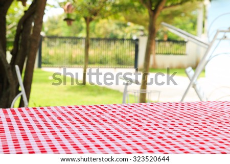 Picnic for a summer vacation - stock photo
