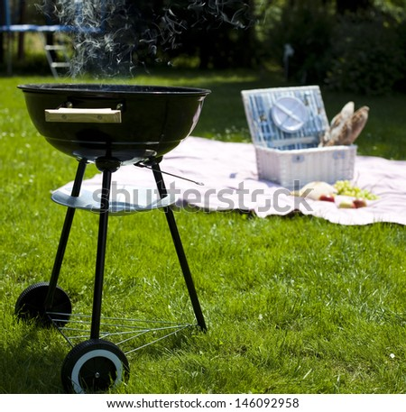 Picnic, Grilling time, Grill