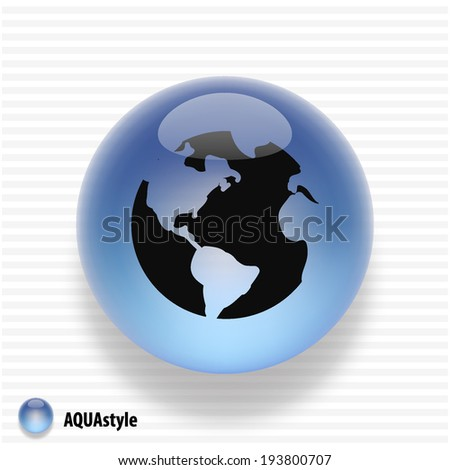 Pictograph of globe