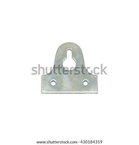 Picture Frame Hanger Plate Wall Hook Stock Photo (Edit Now ...