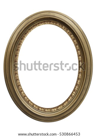 picture frame. Isolated path and over white background, isolated with clipping path.