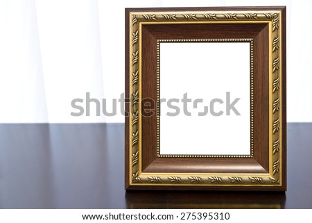 Picture frame,Photo art gallery - stock photo
