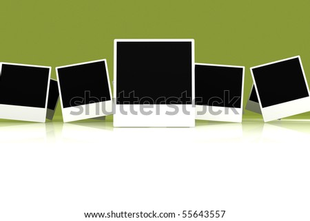 Picture frames - stock photo