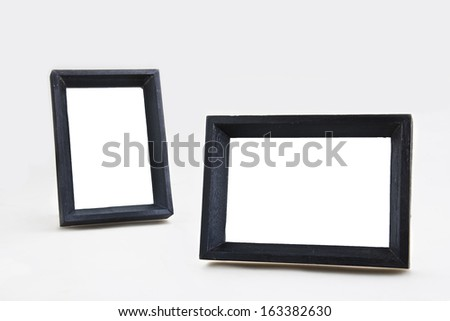 Picture frames vertical and horizontal