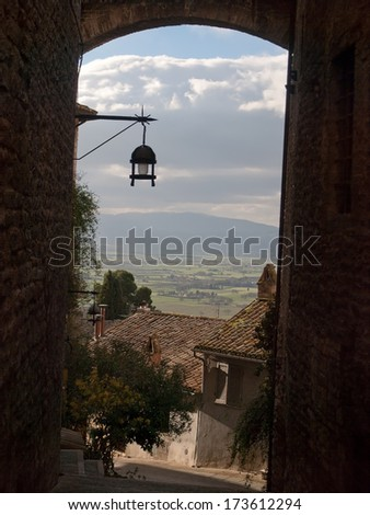 Picture from Assisi in Italy