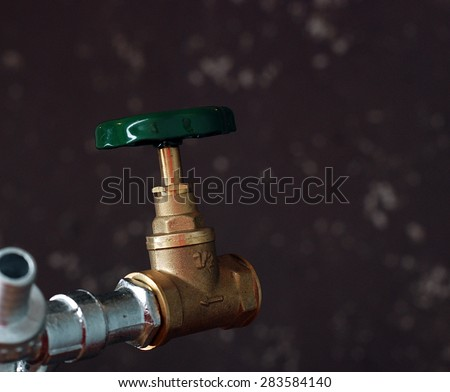 Picture of a Brand new water valve
